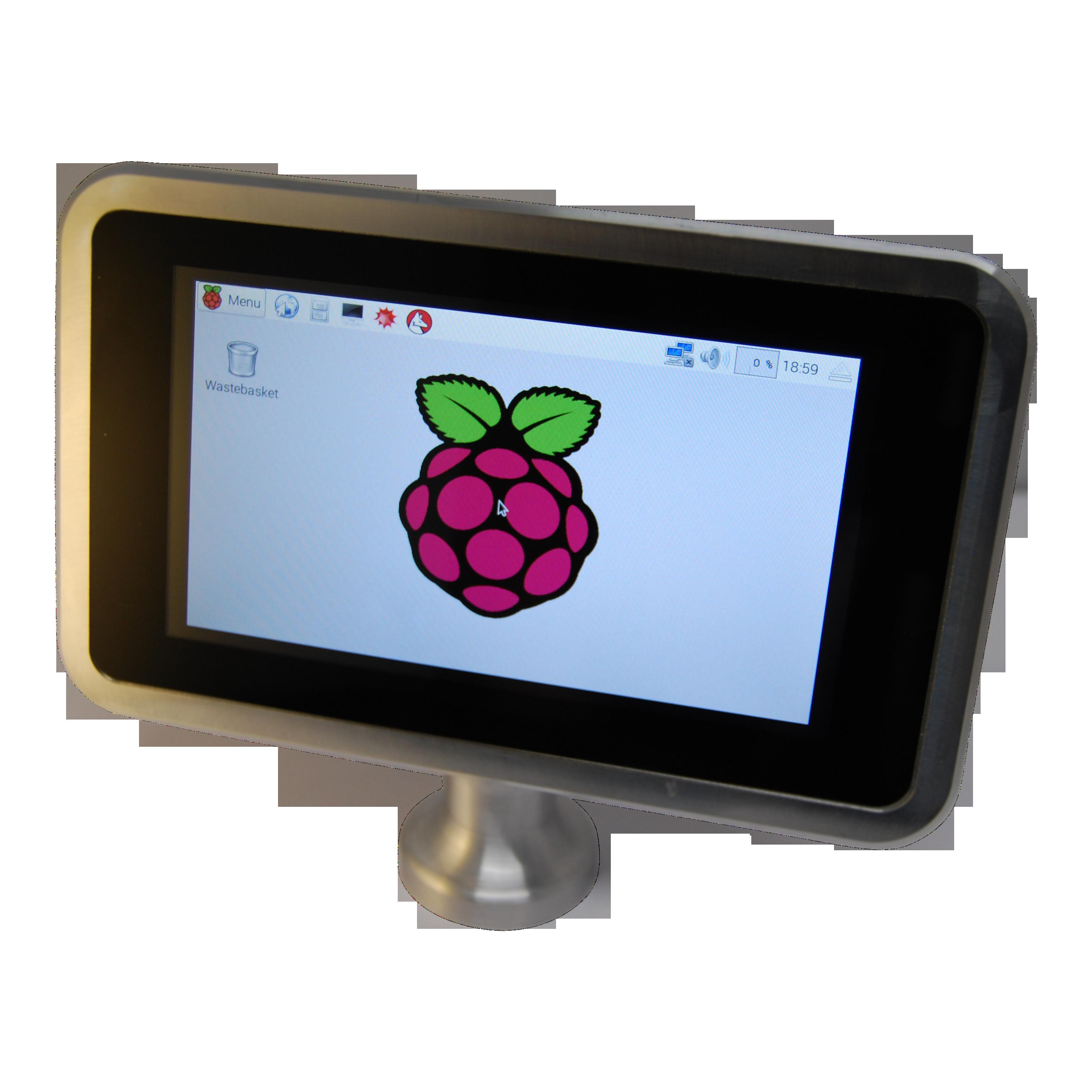 PiggiPi Aluminium Touch Screen Stand